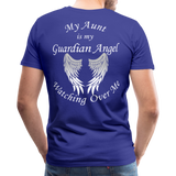 Aunt Guardian Angel Men's Premium T-Shirt (CK1474) - royal blue