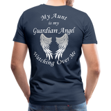 Aunt Guardian Angel Men's Premium T-Shirt (CK1474) - navy