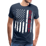 American Daddy Men's Premium T-Shirt (CK1512) - navy