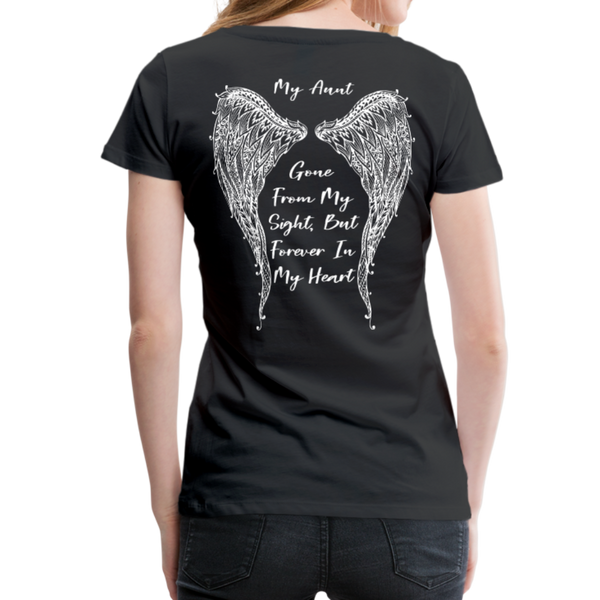 My Sister Gone From Sight Women's Premium T-Shirt (CK1603) - black