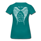 My Sister Gone From Sight Women's Premium T-Shirt (CK1603) - teal