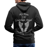 Mom Guardian Angel Men's Premium Hoodie (CK1672W) - black