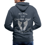 Mom Guardian Angel Men's Premium Hoodie (CK1672W) - heather denim