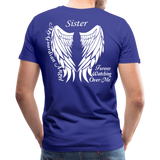 Sister Guardian Angel Men's Premium T-Shirt (Ck1484) - royal blue
