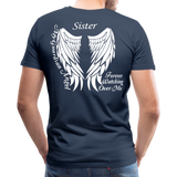 Sister Guardian Angel Men's Premium T-Shirt (Ck1484) - navy