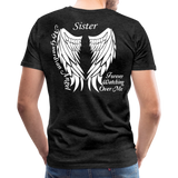 Sister Guardian Angel Men's Premium T-Shirt (Ck1484) - charcoal gray