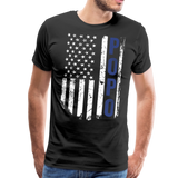American Flag Popo Men's Premium T-Shirt - black