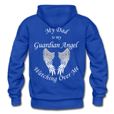 Dad Guardian Angel Gildan Heavy Blend Adult Hoodie (CK1402) - royal blue