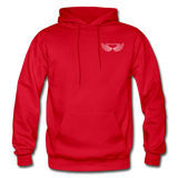 Brother Amazing Angel Sister of an Angel Gildan Heavy Blend Adult Hoodie - red
