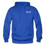 Brother Amazing Angel Sister of an Angel Gildan Heavy Blend Adult Hoodie - royal blue