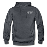 Brother Amazing Angel Sister of an Angel Gildan Heavy Blend Adult Hoodie - charcoal gray