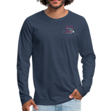 Threse RN, BSN Men's Premium Long Sleeve T-Shirt - navy