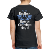 My Big Brother in Heaven Toddler Premium T-Shirt - black