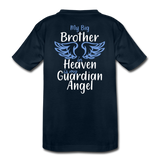 My Big Brother in Heaven Toddler Premium T-Shirt - deep navy