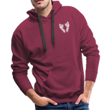 Grammie 6-1-1925 and sunset 6-1-2020Men's Premium Hoodie - burgundy