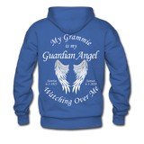 Grammie 6-1-1925 and sunset 6-1-2020Men's Premium Hoodie - royalblue