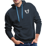 Grammie 6-1-1925 and sunset 6-1-2020Men's Premium Hoodie - navy