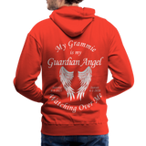 Grammie 6-1-1925 and sunset 6-1-2020Men's Premium Hoodie - red
