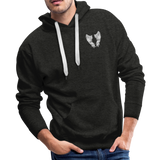 Grammie 6-1-1925 and sunset 6-1-2020Men's Premium Hoodie - charcoal gray