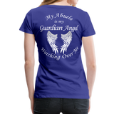 My Abuelo Guardian Angel Women's Premium T-Shirt - royal blue