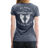 My Abuelo Guardian Angel Women's Premium T-Shirt - heather blue