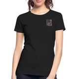 Nurse Flag Women's Premium Organic T-Shirt (CK1213) - black