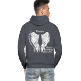 Daddy Guardian Angel Gildan Heavy Blend Adult Hoodie (CK1247) - charcoal gray