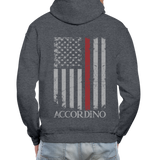 Accordino Gildan Heavy Blend Adult Hoodie - charcoal gray