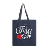 Best Gammy Ever Tote Bag (CK4003D) - navy