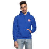 Johnson Firefighter Gildan Heavy Blend Adult Hoodie - royal blue
