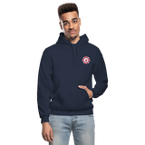 Johnson Firefighter Gildan Heavy Blend Adult Hoodie - navy