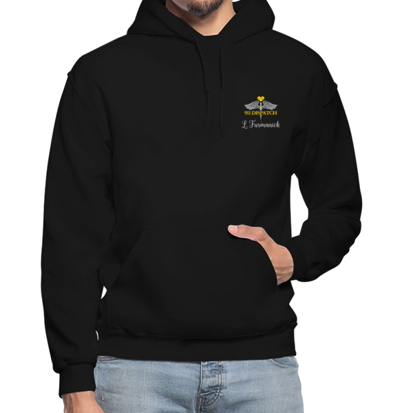 L. Furmanick Gildan Heavy Blend Adult Hoodie - black