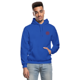 Sparks Firefighter Flag Gildan Heavy Blend Adult Hoodie - royal blue