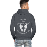 Son Guardian Angel Gildan Heavy Blend Adult Hoodie (CK3546) - charcoal gray