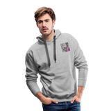 Nurse Flag Men's Premium Hoodie (CK1806) - heather gray