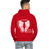 Grandma Guardian Angel Gildan Heavy Blend Adult Hoodie (CK3566) - red