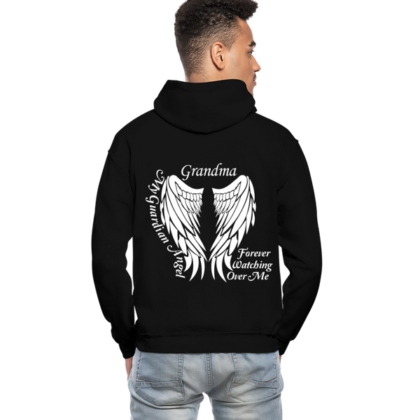 Grandma Guardian Angel Gildan Heavy Blend Adult Hoodie (CK3566) - black