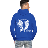 Grandma Guardian Angel Gildan Heavy Blend Adult Hoodie (CK3566) - royal blue