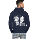Grandma Guardian Angel Gildan Heavy Blend Adult Hoodie (CK3566) - navy