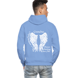 Grandma Guardian Angel Gildan Heavy Blend Adult Hoodie (CK3566) - carolina blue