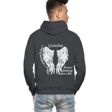 Grandma Guardian Angel Gildan Heavy Blend Adult Hoodie (CK3566) - charcoal gray