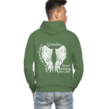 Grandma Guardian Angel Gildan Heavy Blend Adult Hoodie (CK3566) - military green