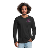 Amanda NP Men's Premium Long Sleeve T-Shirt - black
