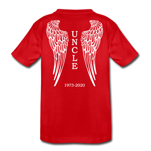 1973-2020 Uncle Kids' Premium T-Shirt - red