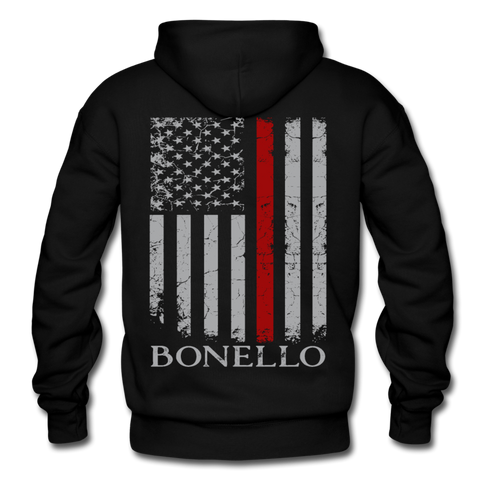 Bonello Gildan Heavy Blend Adult Hoodie - black