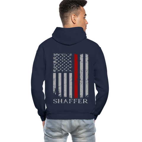 Shaffer Gildan Heavy Blend Adult Hoodie - navy