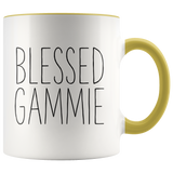 Blessed Gammie 11 oz Accent Coffee Mug