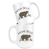 Mama Bear and Papa Bear 15 oz Coffee Mug
