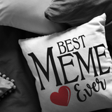 Best Meme Ever Throw Pillow