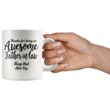 Awesome Father In Law 11oz White Coffee Mug